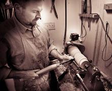 Ian Darroch at work